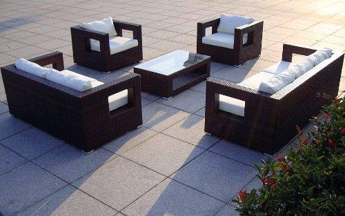 baidani rattan lounge garnitur seaside 19 teilig 0 m bel24. Black Bedroom Furniture Sets. Home Design Ideas