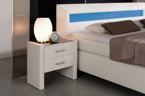 dreams4home 39 boxspring 39 nachtkonsole passend zu boxspring. Black Bedroom Furniture Sets. Home Design Ideas