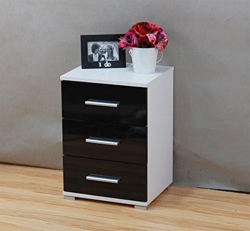 labi m bel n3 3x schubladen schrank kommode nachttisch nachtschrank nachtkasten nachtk stchen. Black Bedroom Furniture Sets. Home Design Ideas