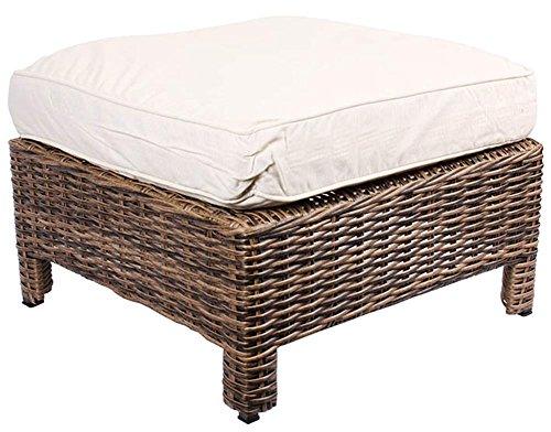 lounge garten sitzhocker fu hocker aus polyrattan. Black Bedroom Furniture Sets. Home Design Ideas