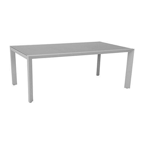 greemotion outdoor esstisch wei stockholm in zwei gr en erh ltlich gartentisch alu mit. Black Bedroom Furniture Sets. Home Design Ideas