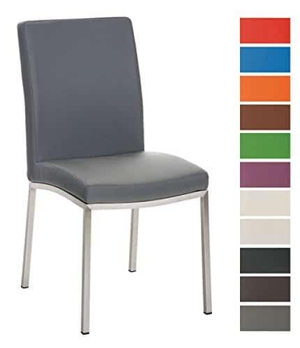clp edelstahl esszimmer stuhl grenoble modern sitzh he. Black Bedroom Furniture Sets. Home Design Ideas