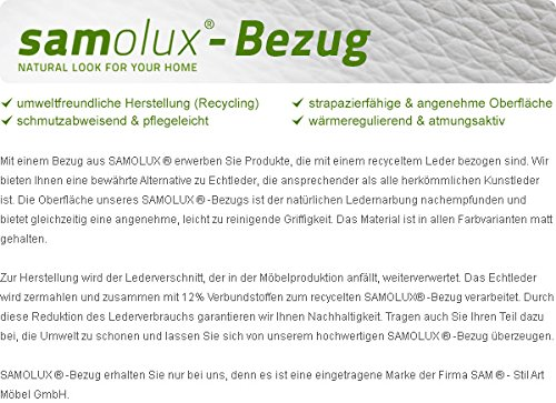 SAM® Design Boxspringbett Zadar Sole weiß mit 7-Zonen H2 Taschenfederkern-Matratze und Chrom-Füßen, 180 x 200 cm 7