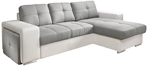 cotta c209660 c311 h350 polsterecke mit schlaffunktion und bettkasten 278 x 157 cm kunstleder. Black Bedroom Furniture Sets. Home Design Ideas