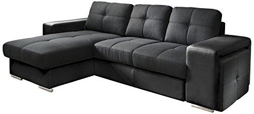 cotta c209661 c310 h360 polsterecke mit schlaffunktion und bettkasten 157 x 278 cm kunstleder. Black Bedroom Furniture Sets. Home Design Ideas