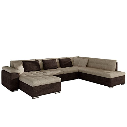 Eckcouch ecksofa niko bis design sofa couch mit for Eckcouch schlaffunktion bettkasten