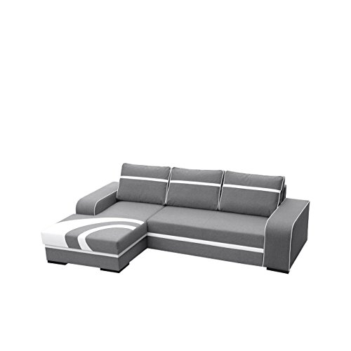 ecksofa flores couch mit bettkasten und schlaffunktion couchgarnitur polsterecke eckcouch design. Black Bedroom Furniture Sets. Home Design Ideas