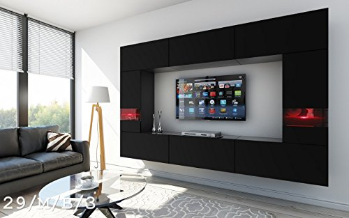 future 29 wohnwand anbauwand wand schrank tv schrank wohnzimmer wohnzimmerschrank m bel matt. Black Bedroom Furniture Sets. Home Design Ideas