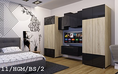 wohnwand future 11 schrankwand moderne wohnwand wohnwand future 14 moderne wohnwand exklusive. Black Bedroom Furniture Sets. Home Design Ideas