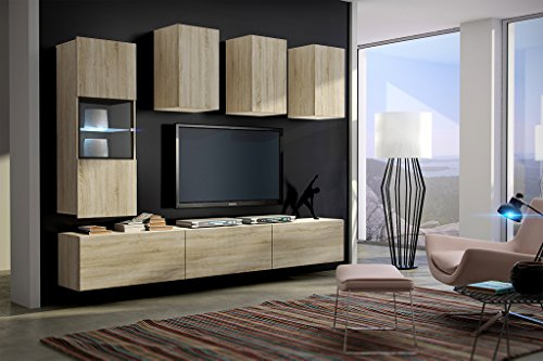 wohnwand future 4 anbauwand moderne wohnwand exklusive mediam bel tv schrank neue garnitur. Black Bedroom Furniture Sets. Home Design Ideas