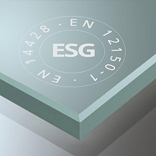 TBH: 100x120x190cm Design Duschkabine Duschabtrennung Ravenna04K, ESG-Sicherheitsglas Klarglas, Eckdusche, inkl. Nanobeschichtung, robust und langlebig