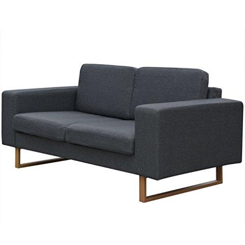 vidaXL Sofa Polstersofa 2/3/5-Sitzer Stoffsofa Loungesofa Couch Wohnzimmer Sitzmöbel
