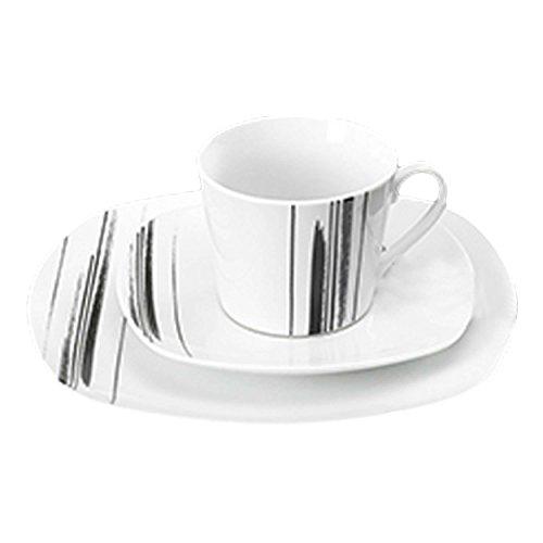 Ritzenhoff & Breker Nero Kaffeeservice, 18-tlg., Kaffeegedeck, Service, Porzellan, 047882
