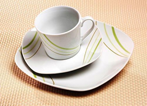 Ritzenhoff & Breker Kaffeeservice Sanna, 18-teilig, Porzellangeschirr