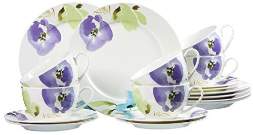 Ritzenhoff & Breker Kaffeeservice Fiorano aus Fine China Porzellan, 18-teilig