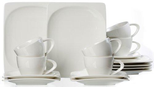 Ritzenhoff & Breker Kaffeeservice Vita, 18-teilig, Porzellangeschirr