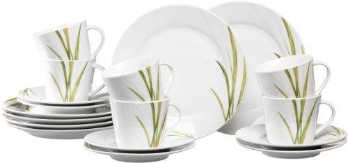 Ritzenhoff & Breker Kaffeeservice Aveda, 18-teilig, Porzellangeschirr