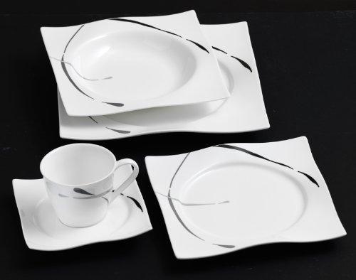 Ritzenhoff & Breker Kombiservice Dacapo, 30-teilig, Porzellangeschirr