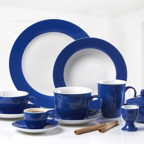 Flirt by Ritzenhoff & Breker Doppio Indigo-Blau Kaffeeservice 18tlg.