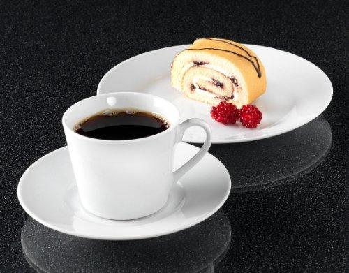 Ritzenhoff & Breker Kaffeeservice Bianco, 18-teilig, Porzellangeschirr