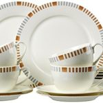Ritzenhoff & Breker Kaffeeservice Elba aus Fine China Porzellan, 18-teilig
