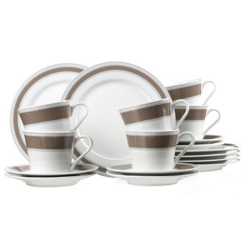 Ritzenhoff & Breker Kaffeeservice Classico, Hochwertiges Porzellan, 18-teilig, 34691