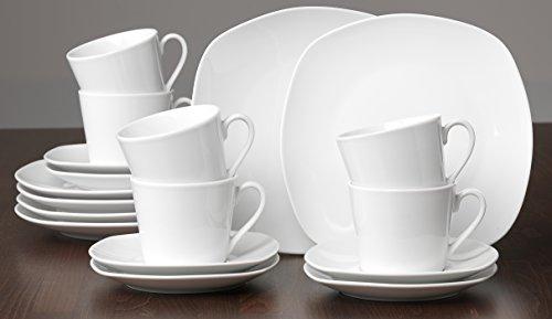 Ritzenhoff & Breker Kaffeeservice Primo, 18-teilig, Porzellangeschirr