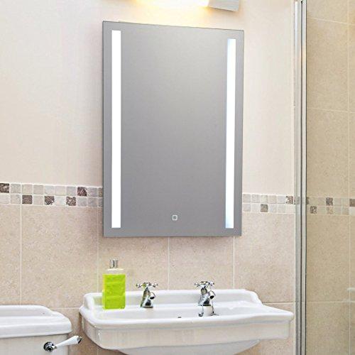 KROLLMANN LED Bad-/ Kosmetikspiegel mit Touch Sensor in verschiedenen Variationen