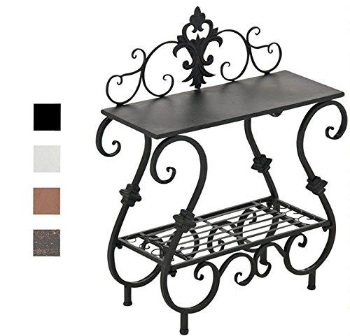 CLP Eisentisch AURICA im Jugendstil I Robuster Gartentisch mit kunstvollen Verzierungen I In verschiedenen Farben erhältlich