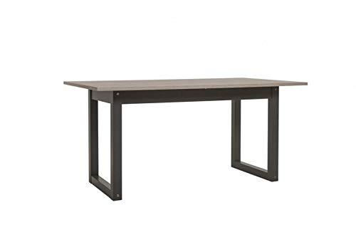 Jadella Esstisch 'Chicago Tisch' Esszimmertisch Küchentisch Industrie Look Chicago ausziehbar 160-200cm