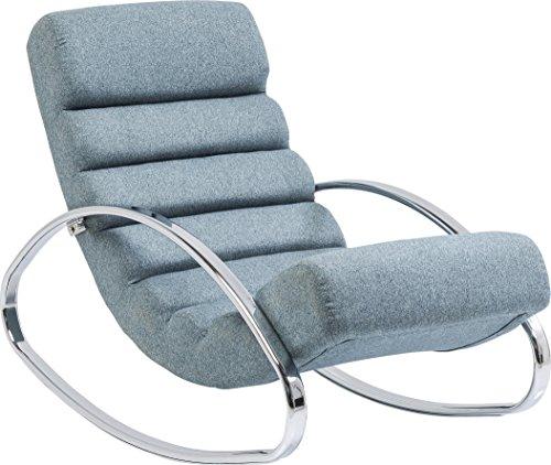 Kare Design Schaukelstuhl Manhattan, Relaxsessel mit Schaukelfunktion, Lounge Sessel