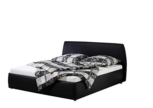 Maintal Betten 232657-4693 Polsterbett Minu 180 x 200 cm, Kunstleder